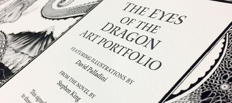 Suntup Editions: The Eyes of the Dragon Art Portfolio
