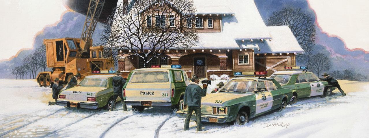 Roadwork Print- Stephen King - Darrel Millsap