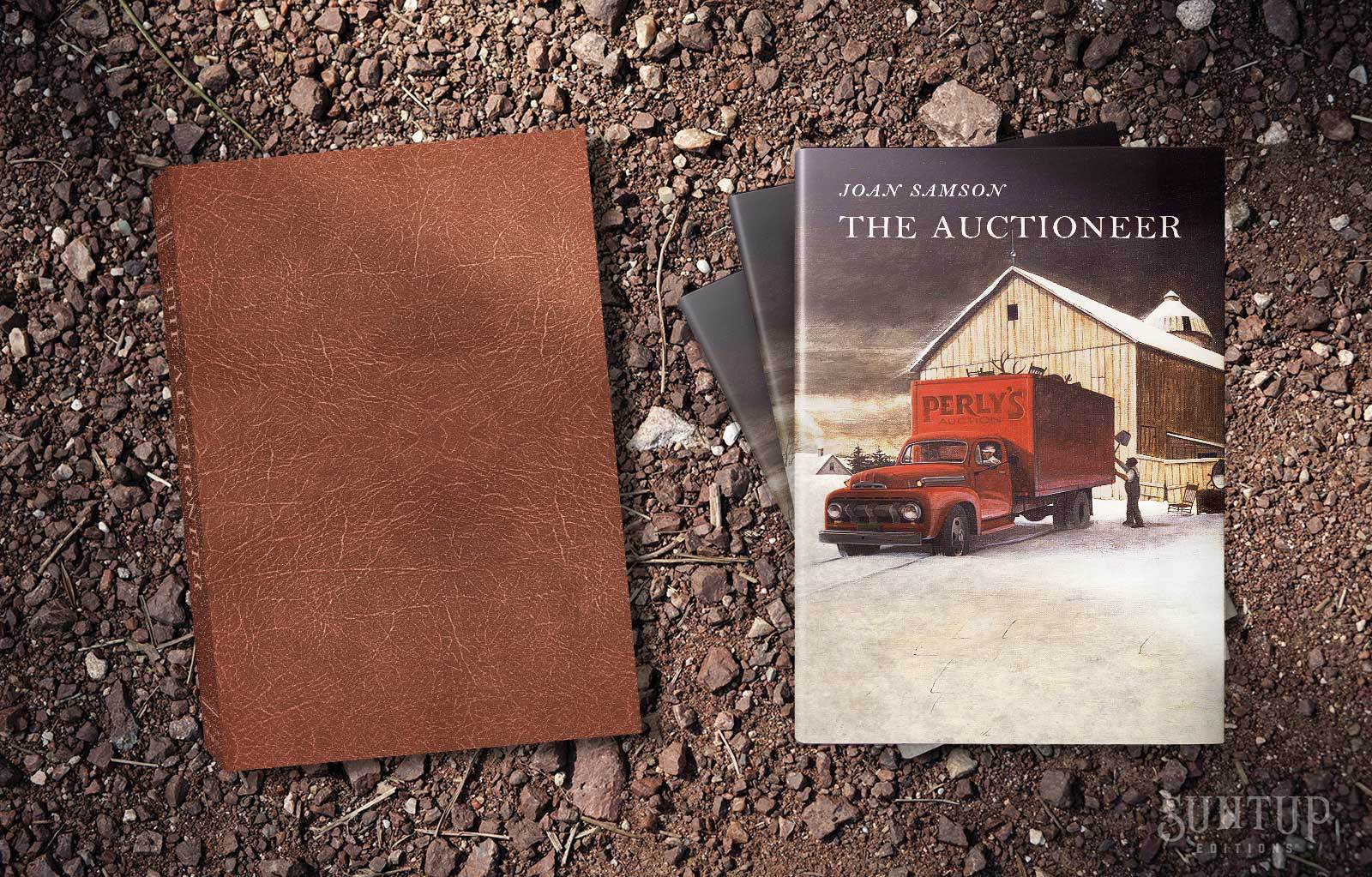 The Auctioneer - Joan Samson - Suntup Editions